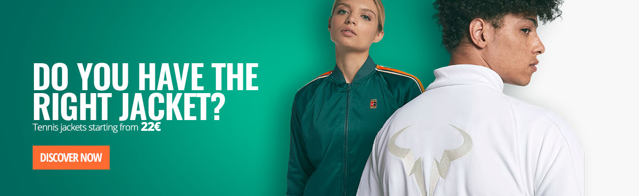 Tennis Jackets from 22€