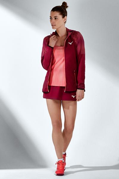 Mizuno Printed Hoodie Jacket