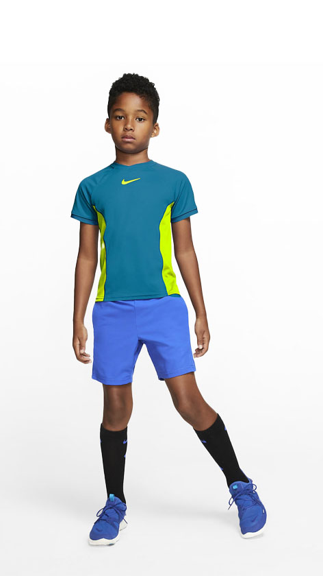 Nike Neo Turquoise Boy Look