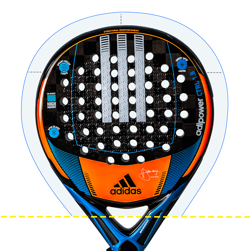 Round Padel Rackets