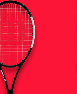 Tennis rackets for expert players