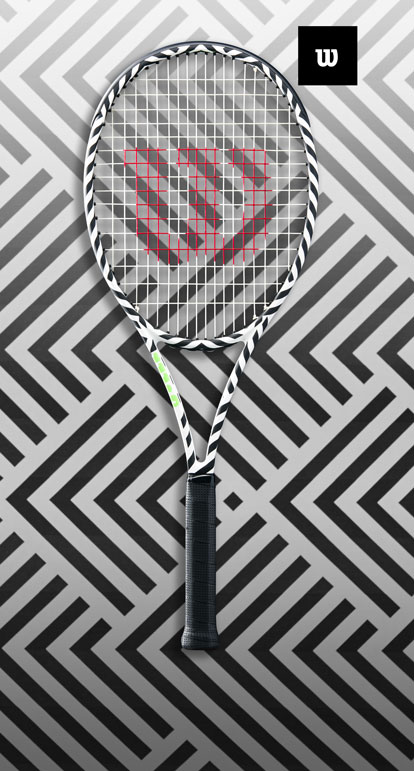 Wilson Bold For daring tennis players